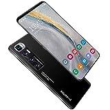 WENTING Teléfono móvil P48 Plus Global 4G LTE Android Phone, 5.8'Triple Cameras Expandible Phone, Face ID 6GB + 215GB Desbloqueado Smartphone-Blue 5.8'