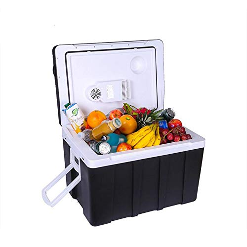 L&K 50L Portable Réfrigérateur/Congélateur Mini Véhicule Électrique Mini-Refroidisseur Électrique 12V (DC) 220V (AC) pour Home Party, Voyage, Pique-Nique en Plein Air, Camping