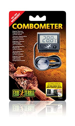 Exo Terra PT2470 Higrómetro/Termómetro Digital LED - 1 Unidad