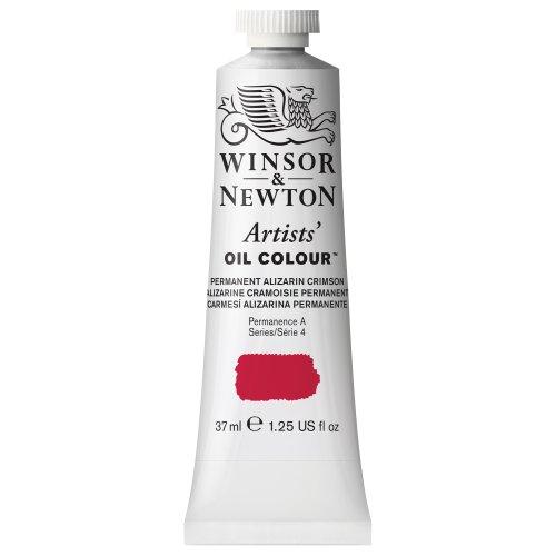 Winsor & Newton Artists' Oil Color Paint, 37-ml Tube, Permanent Alizarin Crimson Hue