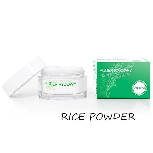 3x Ecocera Face Rice Powder Full Size 15g- Long lasting, Shine Free, Lightweight