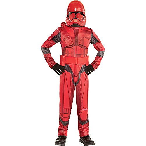 Party City Star Wars 9: The Rise of Skywalker Sith Trooper Costume for Children, Size Large, Includes Jumpsuit and Mask