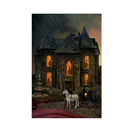 Opeth In Cauda Venenum Albumposter Cover Leinwand Poster Wandkunst Dekor Druck Bild Gemälde für Wohnzimmer Schlafzimmer Dekoration 30 × 45 cm ohne Rahmen