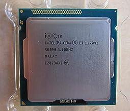 MAO YEYE Intel Xeon E3 1220 V2 Processor 3.1GHz 8MB 4 Core 1333MHz SR0PH LGA1155 CPU