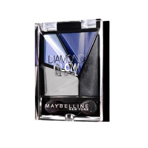 Maybelline New York Eyestudio Diamond Glow - Palette ombre à paupières Bleu - 03 blue drama