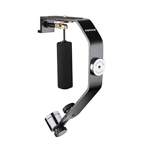 Mantona Schwebestativ (inkl. Stativgewinde Adapter und Gegengewichten, geeignet für Action Cams und GoPro Hero 2/3/3+/4)