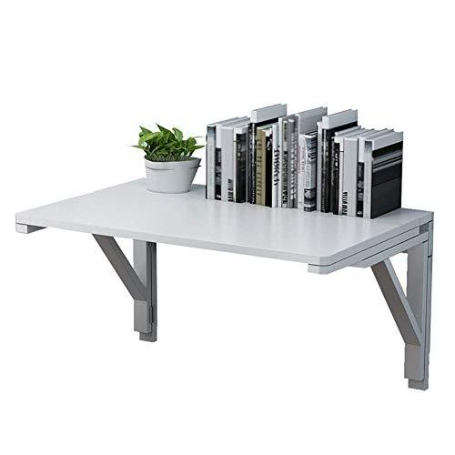 LDM Mesa Mesa Plegable, Escritorio de computadora montado en la Pared/Mesa de estación de Trabajo montada en la Pared/Mesa de Estudio para niños/Mesa de Comedor (Color: 80x40 cm)