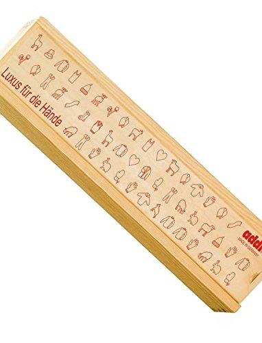 Addi 528-9 Aufbewahrungsbox für Stricknadeln, 41.3x5.9x3cm