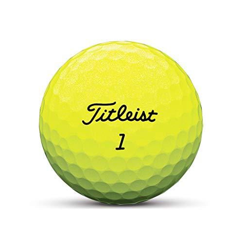 Tour Soft Gelb Golfball - Individuell Bedruckt mit Ihrem Text Bild oder Logo (1 STK)