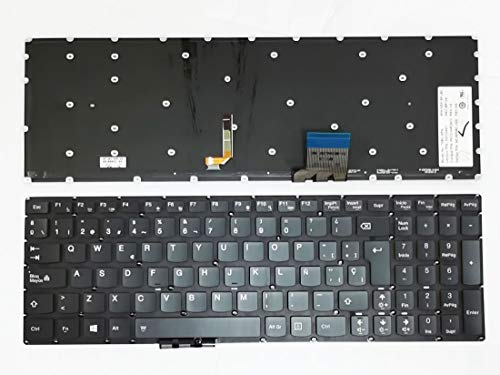 HuiHan Replacement for Lenovo Y50 Y50-70 Y70-70 U530 U530P U530P-IFI SP Spanish Version Keyboard With Backlit 25215991