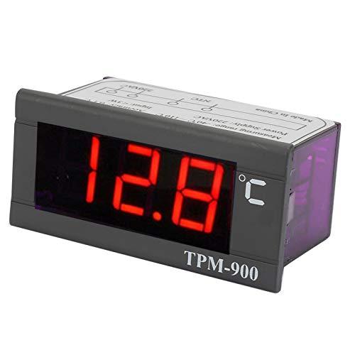 Termostato de control de temperatura Medidor de panel LED Controlador de temperatura digital para temperatura