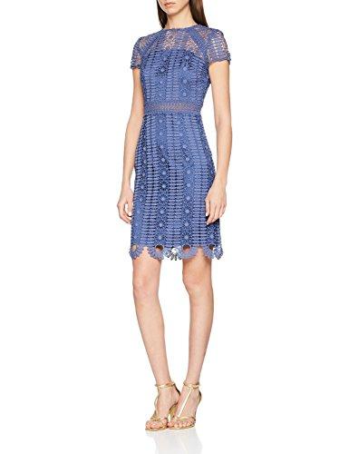 Chi Chi London Damen Rima Partykleid, Blau (Blue BL), Hersteller Größe:40