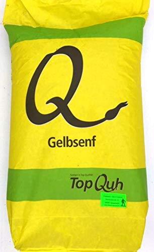 Gründüngung Gelbsenf Top Q 25 kg Frische Saat