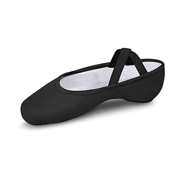 Bloch Dance Men's Performa Stretch Canvas Split Sole Ballet Shoe/Slipper