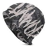 hgdfhfgd Yelawolf Skull Caps Sombrero de Punto para Adultos Casual Unisex Moda cálido Sombrero Suave Cómodo Invierno Negro