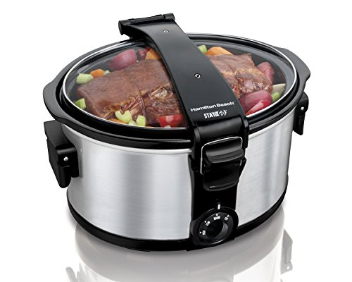 Hamilton Beach 7 Quart Stay Or Go Slow Cooker