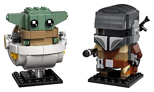 LEGO BrickHeadz Star Wars The Mandalorian The Child 75317 Building Kit