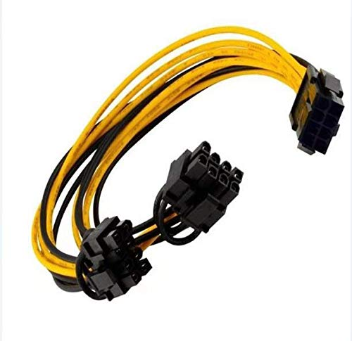classement un comparer Maibahe Pack 2 Pack]PCI-E 8 broches PCIe vers 2x PCIe 8 (6 + 2) câble à broches de la carte d'extension…