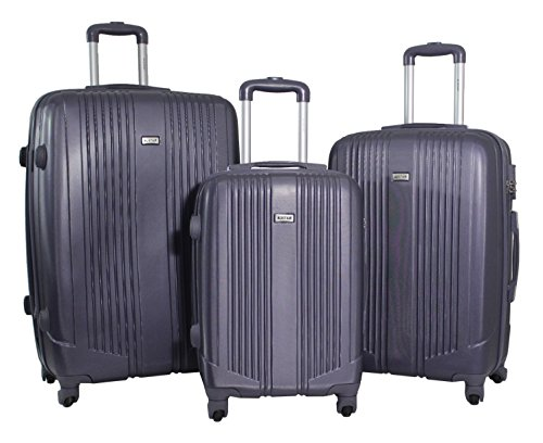 Set de 3 Valises - Trolley ALISTAIR Airo - ABS Ultra...