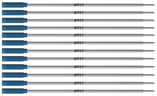 12x DIVEY Kugelschreiberminen für das Cross-Format