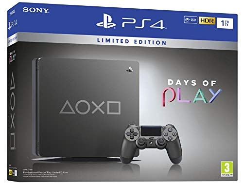 PlayStation 4 - Consola de 1TB (PS4) Edición Days of Play