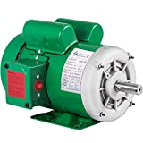 Mophorn Electric Motor 1Hp 143/5T Frame Single Phase Motor 1800 RPM 60Hz Air Compressor Motor AC 115/230V Suit for Agricultural Machinery and General Equipment