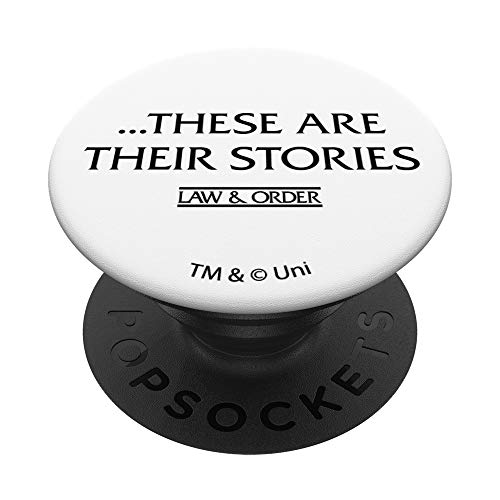 Law & Order These Are Their Stories PopSockets PopGrip: Agarre intercambiable para Teléfonos y Tabletas