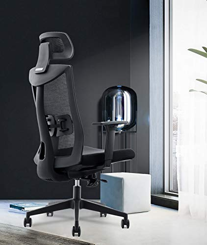 INNOWIN® Henry High Back Breathable Mesh Office Chair - Black