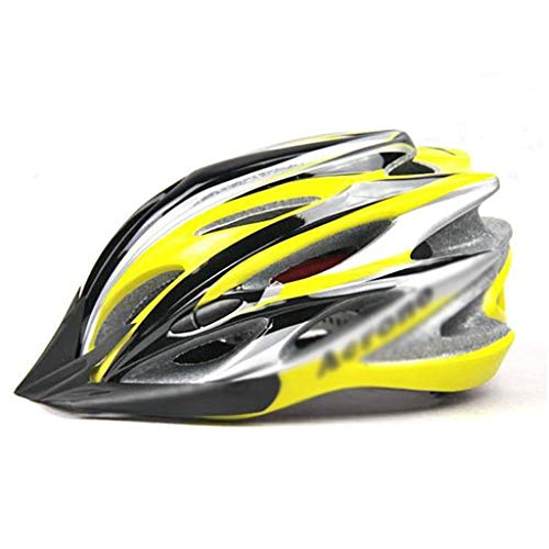 LIAN Fahrradhelm, verstell- und Abnehmbarer EIN-Stück Fahrradhelm, Geeignet for Mountainbikes (Color : A)