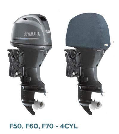 Oceansouth Außenbordmotor Halbabdeckung für Yamaha (50-70HP (4CYL))