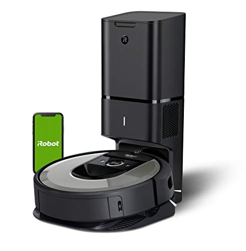 iRobot Roomba i7+ (i7556) WiFi Connected Robot Vacuum with Automatic Dirt Disposal and Power-Lifting Suction and Dual Multi-Surface Rubber Brushes - Ideal for Pets - Learns, Maps, and Adapts to Home