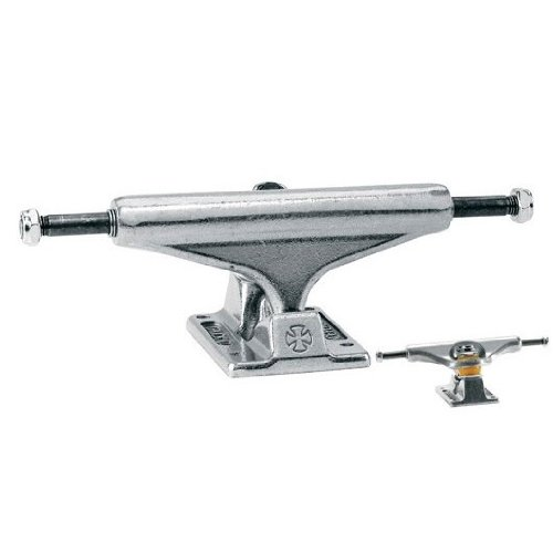 INDEPENDENT Skateboard Trucks 129mm Silver Raw STAGE 11 7.75 in PAIR