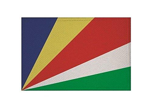 U24 Aufnäher Seychellen Fahne Flagge Aufbügler Patch 9 x 6 cm