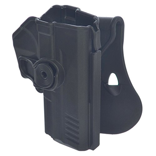 imi-z1340 IMI DEFENSE Polymer Roto Rechte Hand Paddle Holster für CZ75 SP 01 SHADOW, CZ75 SP 01 Tactical, CZ75 Compact, CZ75D Compact + 1 x Mini PVC Punisher Patch