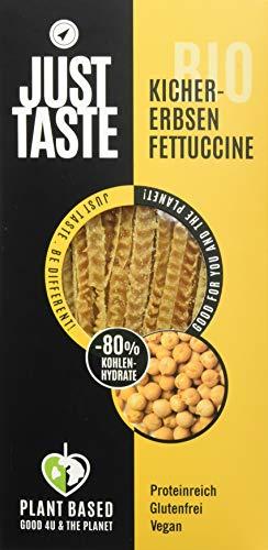Just Taste Bio Kichererbsen Fettuccine, 6er Pack (6 x 250 g)