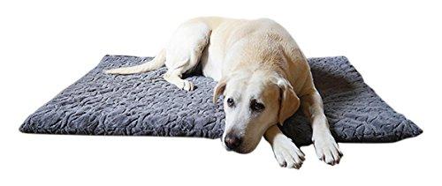 Rosewood Hueso Peluche Perro colchón, 22 x 15 Pulgadas