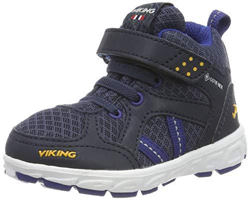 viking Unisex barn Alvdal Mid R GTX promenadsko, Blå marinblå mörkblå 576-21 EU