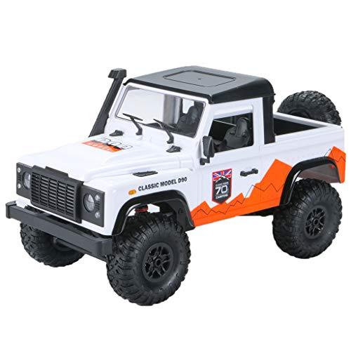 Masrin 2,4G 1/12 4WD RTR Militär Crawler RC Buggy Geländewagen Auto (Weiß)