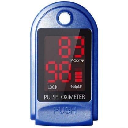 Oxímetro de pulso de dedo, saturação de oxigênio no sangue, monitor de oxigênio no sangue