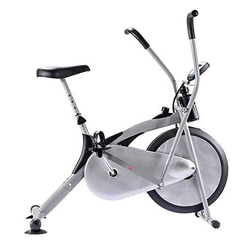 Cubierta fitness bicicletas, Spin Bike ajustable profesional de bicicleta de ejercicios, entrenamiento Equipo de entrenamiento con un cómodo cojín del asiento, antideslizante de la ventosa for el Mini