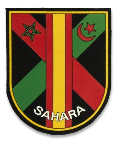 Parche Sahara para Caza, Pesca, Camping, Outdoor, Supervivencia y Bushcraft Albainox 30499 + Portabotellas de regalo