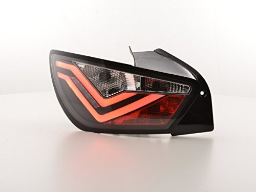 FK Automotive FKRLXLSE016009 LED Rückleuchten Heckleuchten, Schwarz