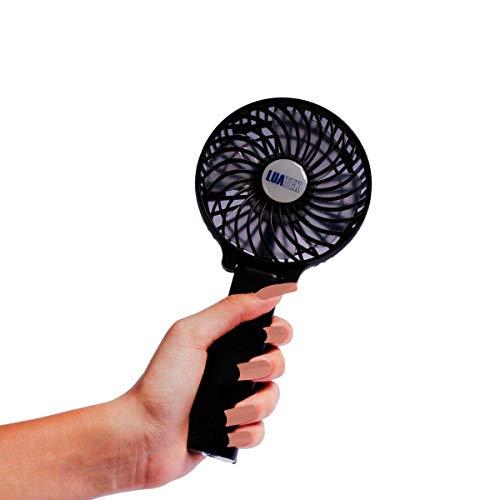 Mini Ventilador De Mão Portátil Com Pilha Recarregável