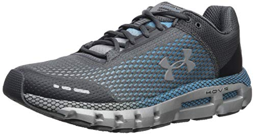 Under Armour Men's HOVR Infinite Running Shoe, Pitch Gray (101)/Ether Blue, 9