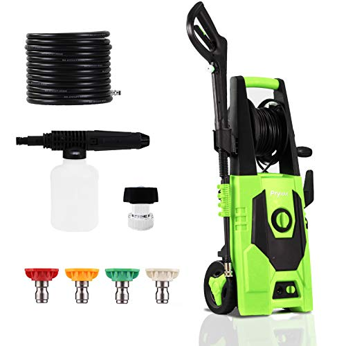 PRYMAX Electric Power Washer 3000 PSI 1.85 GPM Car Electric Pressure Washer with Hose Reel and...