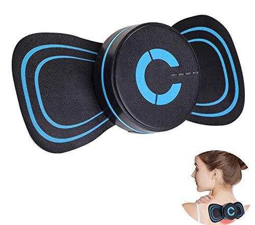 MASOMRUN Portable Mini Cervical Massager, Massage lindert Schmerzen im Nacken, Rücken, Schultern, Beinen, Füßen usw. Ganzkörpermassage (Trockenbatterie)