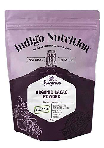 Indigo Herbs Cacao Biologico in Polvere 500g