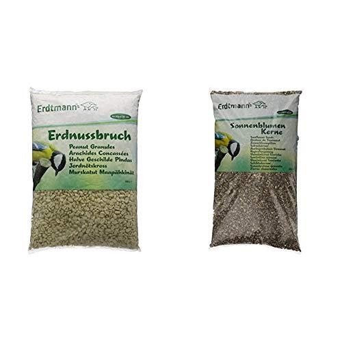 Erdtmanns Erdnussbruch, 1er Pack (1 x 5 kg) & Sonnenblumenkerne, 1er Pack (1 x 5 kg)