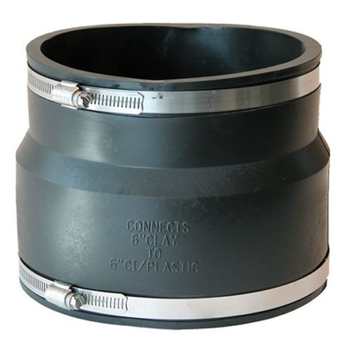 Fernco P1002-66 Reducing Flexible Coupling by Fernco