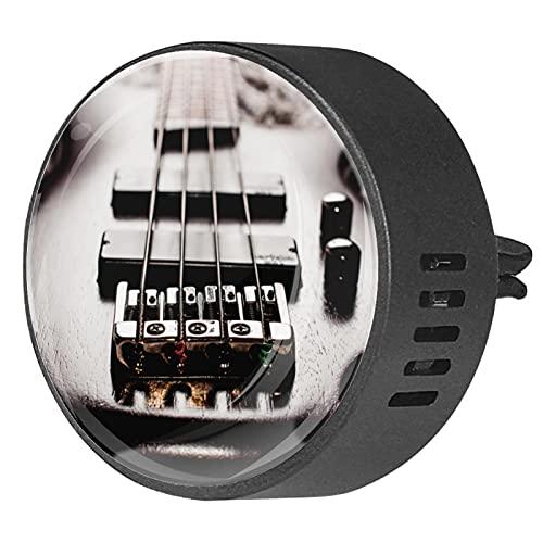 Clip de ventilación para difusor de aromaterapia para automóvil guitarra eléctrica de...
